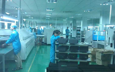 Full-automatic high speed SMT room