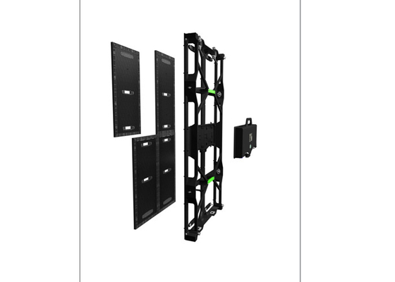China Front Service LED Screens Light Weight Panel Indoor Rental Display With Fast Locks supplier