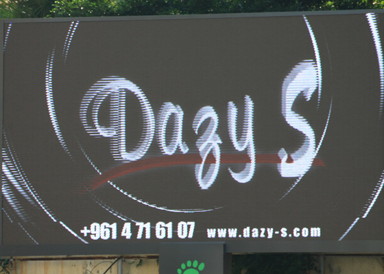 China P6 Commercial LED Display 120° Viewing Angle For Stadium Perimeter Led Display supplier