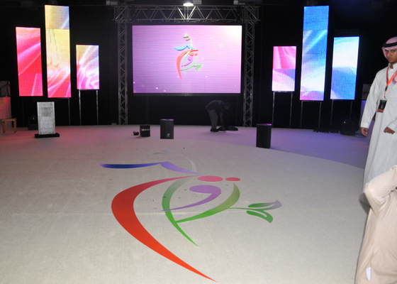 China Indoor Stage Full Color LED Display Board 6mm With Large Viewing Angle supplier