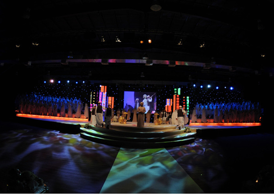 China High Definition P4 SMD2020 Ultra Thin Led Display / Rental Led Video Screens supplier