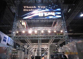 China P6 Aluminum Cabinet Indoor Full Color LED Screen Led Video Display Board supplier