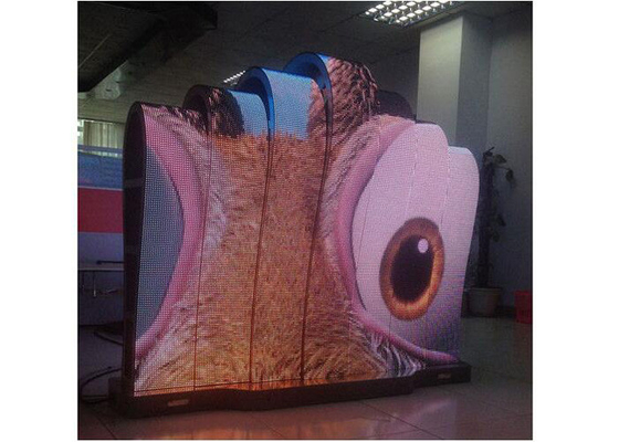 China Indoor P6 Certified Flexible Led Display Module With Large Viewing Angle supplier