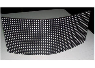 China SMD Ultra Thin Flexible Led Display 6mm / ARC Led Screen 288 x120 Module Size supplier