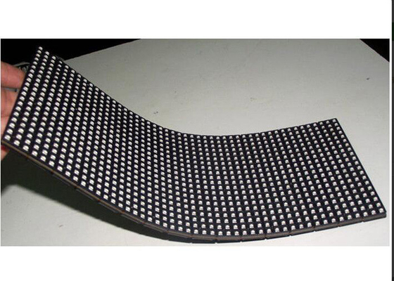 China Indoor flexible led display screen For Shows High Brightness , Curved Led Display supplier
