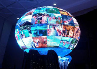 China Curved LED Screen / Flexible Led Display 6mm / ARC Led Screen supplier