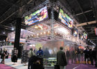 Indoor Perfect Performance Stage LED Screen Display 4mm For Trade Shows