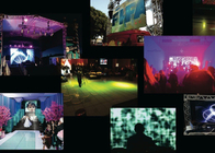 Indoor Full Color Led Video Display Board For Rental Living Events