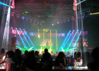 China Die - casting Aluminum Indoor Full Color LED Screen For Concerts , 1200cd/m2 factory