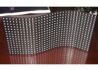 China P6 Advertising Flexible LED Display Module For Livng Concerts , led display curtain factory