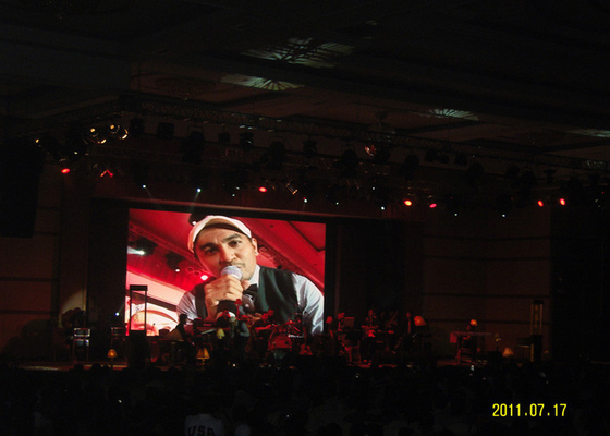 China High Definition Aluminum LED Stage Screen Rental Indoor Full Color LED Display distributor