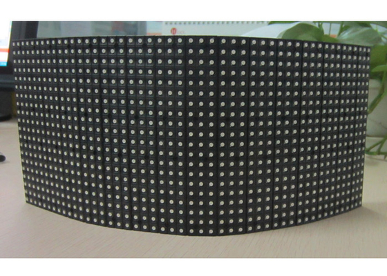 China P6 Indoor Flexible  Module For Fixed Instalation, Full Color LED Curtain Wall distributor