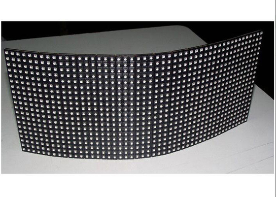 China SMD Ultra Thin Flexible Led Display 6mm / ARC Led Screen 288 x120 Module Size distributor